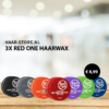 3x Red One Wax Grey Voordeelpakket