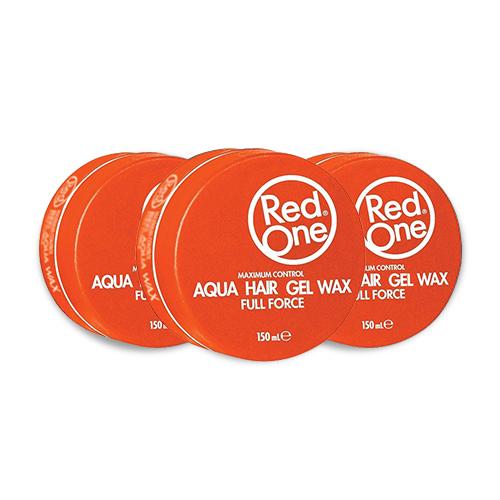 3x Red One Gel Wax Aqua Orange Voordeelpakket
