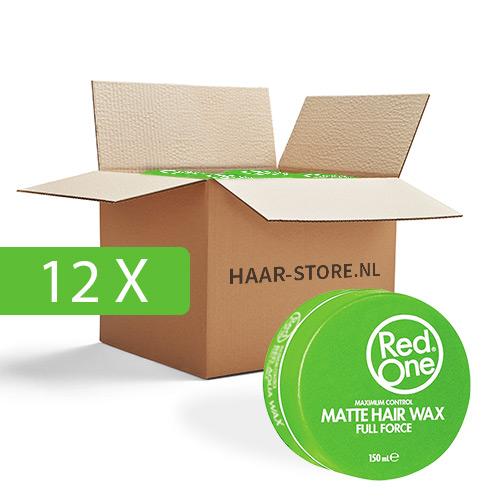12x Red One Wax (groen) voordeelpakket
