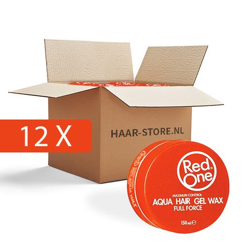 12x Red One Wax (Oranje) voordeelpakket