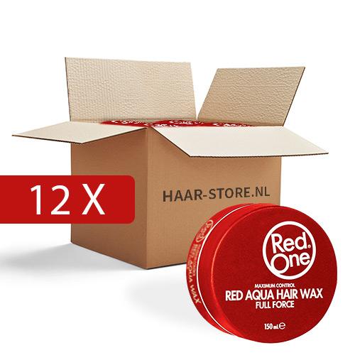 12x Red One Wax (rood) voordeelpakket