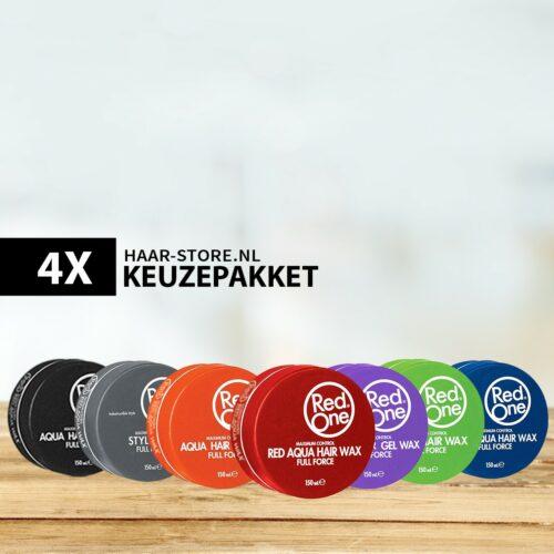 4 x Original Red One Haarwax Naar Keuze