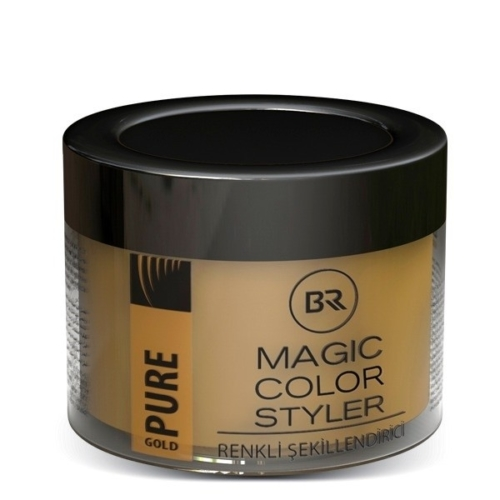 Color Hair Wax Pure Gold – Black & Red