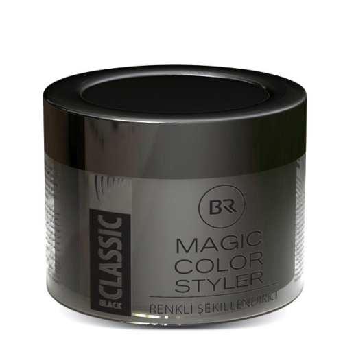 Color Hair Wax Classic Black – Black & Red