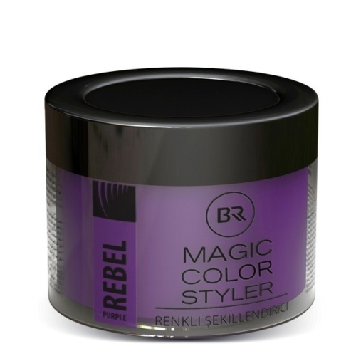 Color Hair Wax Rebel Purple – Black & Red