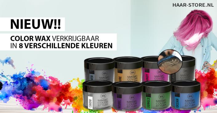 Color Wax - Haarwax met Kleur
