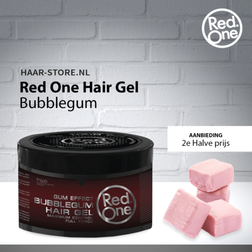 Red One Haargel Bubblegum
