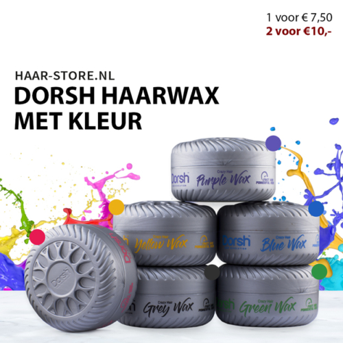 Color Wax Dorsh Kleuren Haarwax