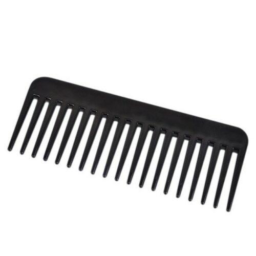 Haarkam met brede tanden