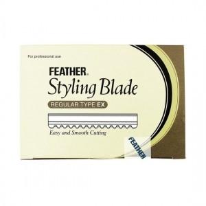 Feather mesjes kleine doos 10 stuks