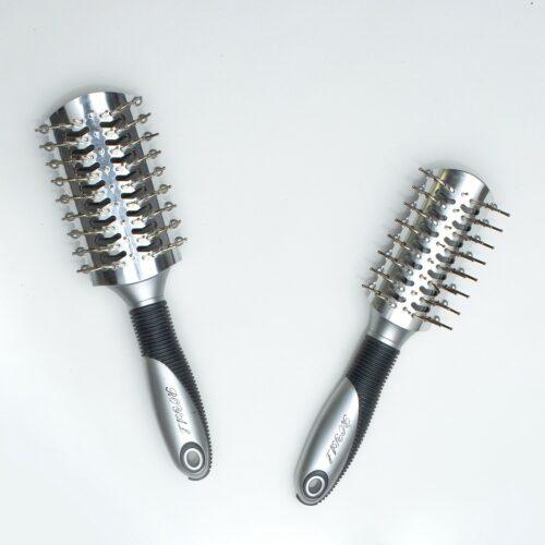Haarborstel Recht Hard Metal