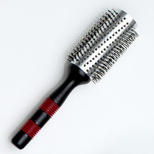 Haarborstel Rond Breed Met Nop