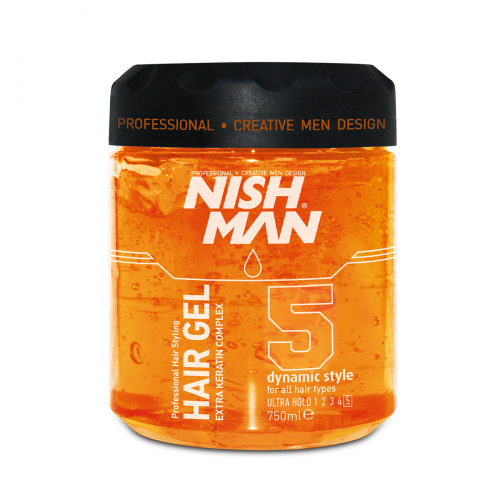 HAARGEL NISH MAN ULTRA HOLD STYLING GEL