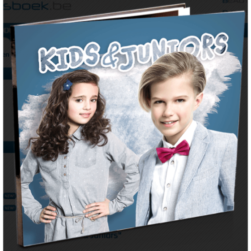 Modellenboek Studio Kids en Juniors