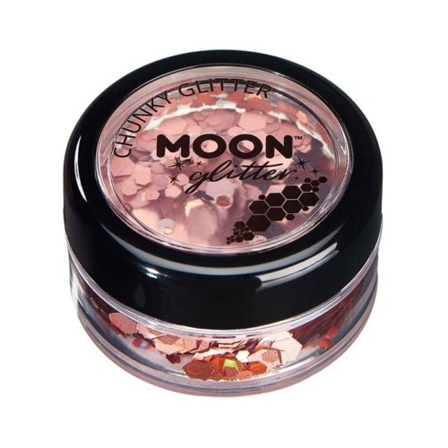 Creations Glitter grote glittervlokken Moon roségoud