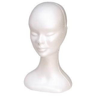Sibel Kop Voor Pruik Wit