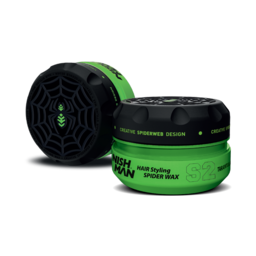 NISH MAN HAIR STYLING SPIDER WAX GROEN