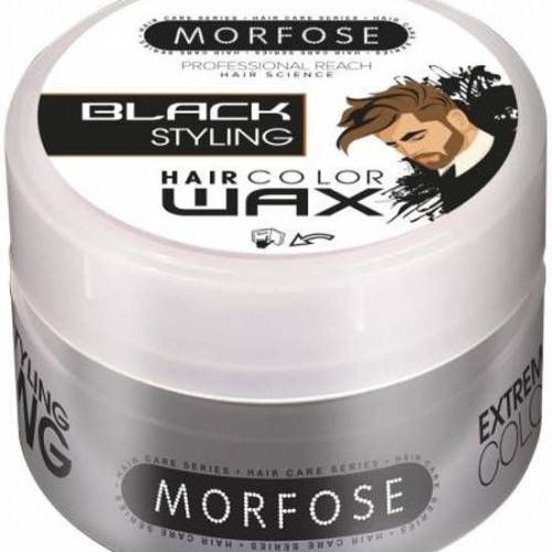 Morfose Hair Color Wax Black