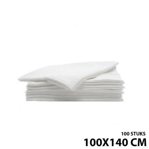 Wegwerp kapmantels 100 stuks 100 x 140cm
