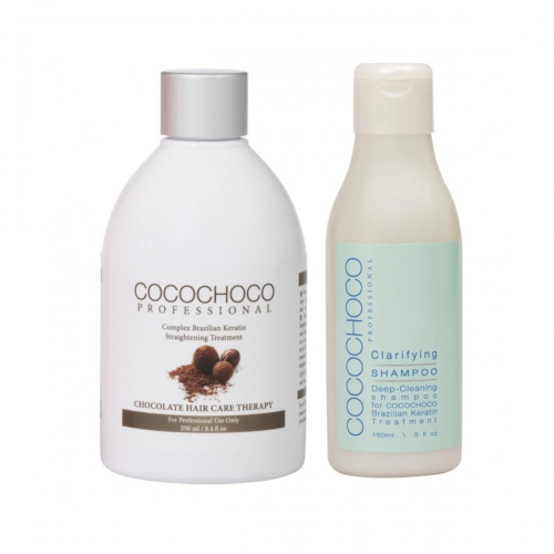 Original Brazilian Keratin 250ml + Clarifying Shampoo 150ml