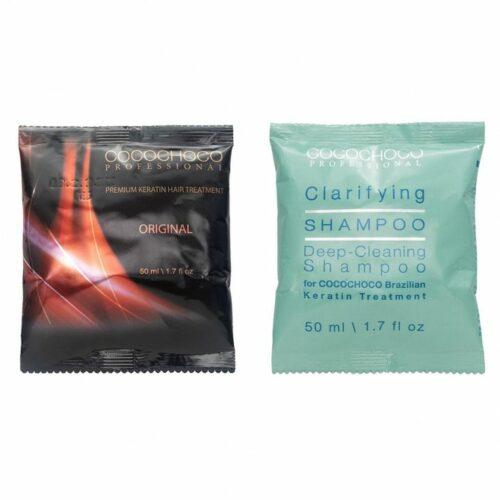 Original Brazilian Keratin & Clarifying Shampoo (50ml) COCOCHOCO