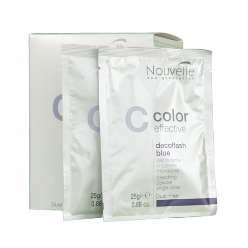 NOUVELLE BLONDEERPOEDER DECOFLASH POWDER BL. SACHET 25GR/18PCS