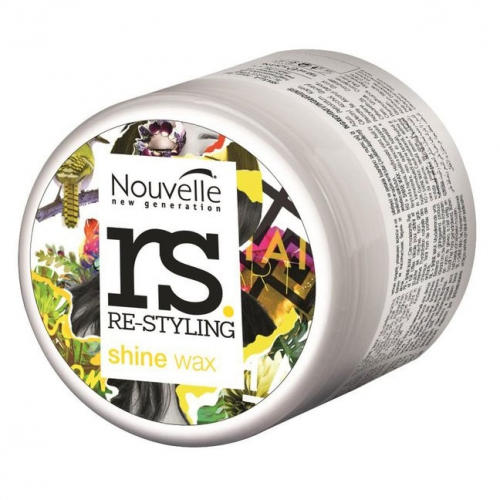 HAARWAX NOUVELLE RE-STYLING SHINE WAX NEW 125ML
