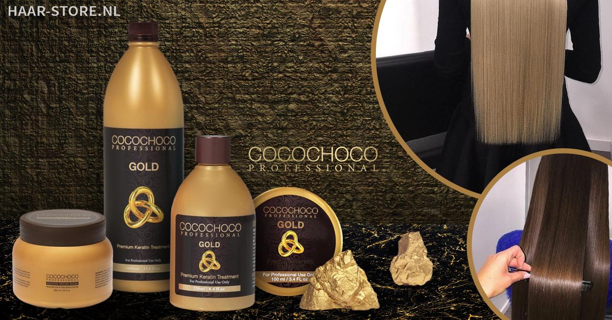 Brazilian Keratine Behandeling COCOCHOCO GOLD