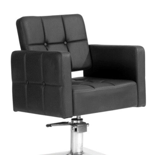 Luxe Kappersstoel Met Zwarte Blokken