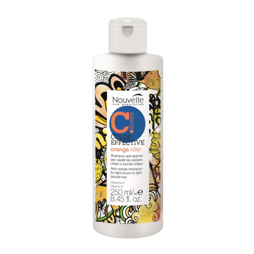 NOUVELLE COLORGLOW ORANGE KILLER SHAMPOO 250ML