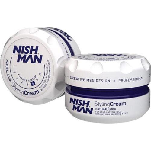 NISH MAN Styling Cream Naturel Look