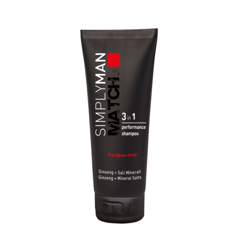 PERFORMANCE SHAMPOO 3 IN 1 SIMPLY MAN MATCH 200ML