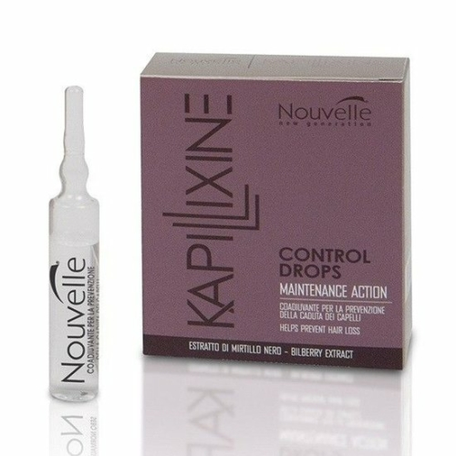 Nouvelle Kapillixine Control Drops Maintenance Action 10 X 10ml