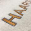 Badlaken met Logo Borduren