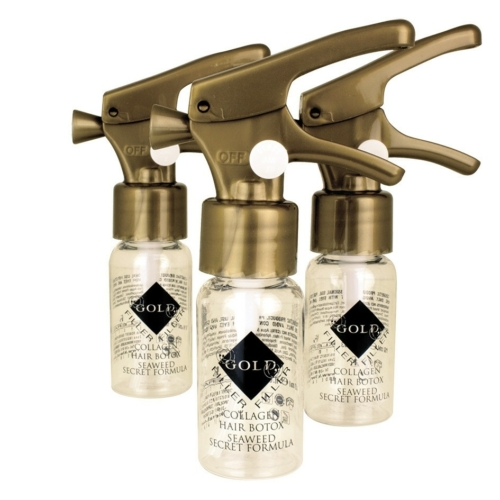 Hair Botox Filler Kleral Gold – 3 Stuks