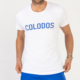 T-Shirt COLODOS Wit Blauw