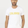 T-Shirt COLODOS Wit Geel