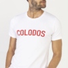 T-Shirt COLODOS Wit Rood