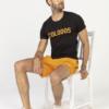T-Shirt COLODOS Zwart & Oranje