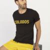 T-Shirt COLODOS Zwart & Geel