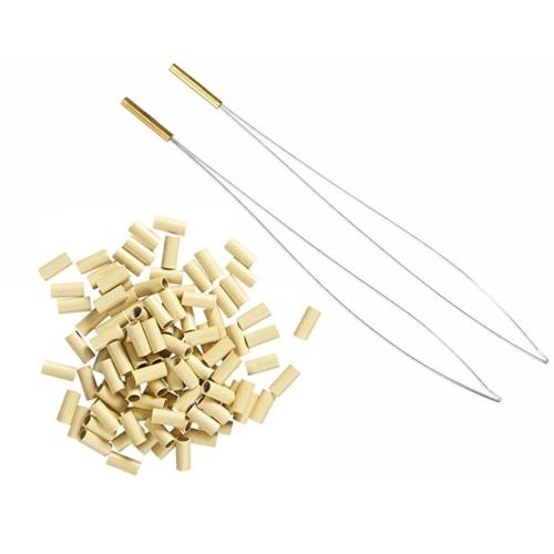 Balmain Micro Rings Beige 100stk